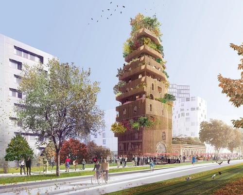 Réalimenter Masséna by DGT Architects was one of the winning proposals / DGT Architects