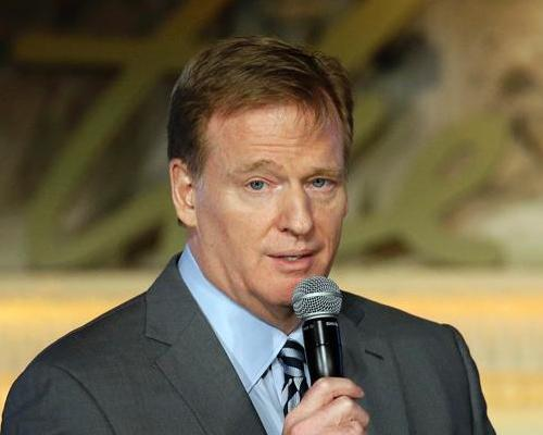 Roger Goodell addresses the NFL Women's Summit / Press Association