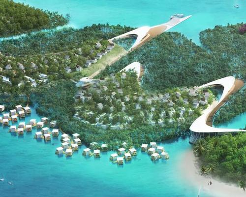 Funtasy Island, which extends over 328 hectares, has been billed as 'the biggest eco-park in the world' / Funtasy Island
