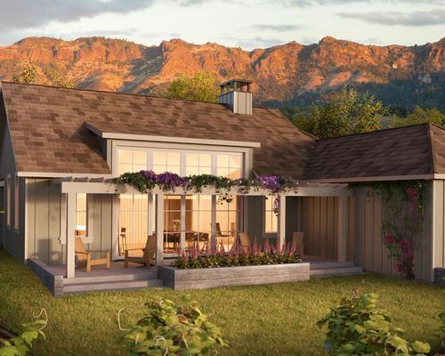 Designed by Colorado-based O'Bryan Partnership Architects, the resort will include 20 private residence villas / Four Seasons