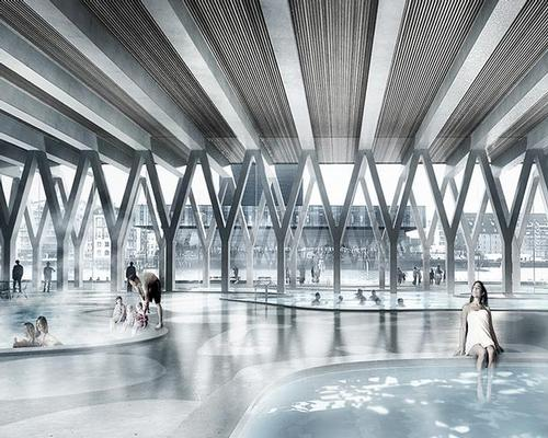 The biggest new leisure addition is a swimming facility  / COBE/Luxigon