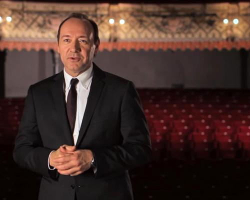 The AIA hailed the actor for his 'talent for disruption and drive to challenge the status quo' / Kevin Spacey Foundation