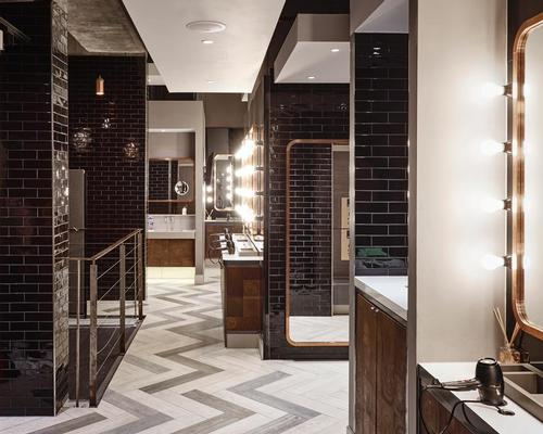 The lavish changing rooms contain Cowshed and GHD products / Third Space
