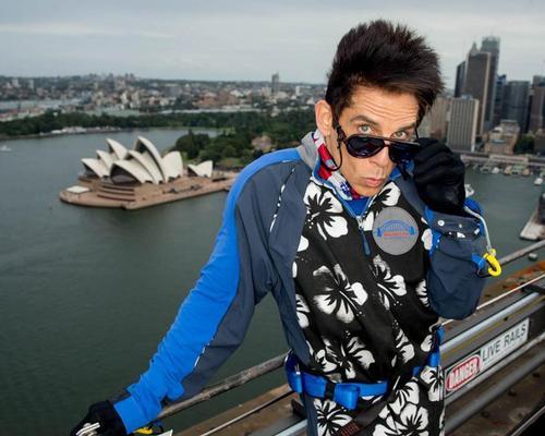 Derek Zoolander turns famous attractions into catwalk runways with viral marketing stunt