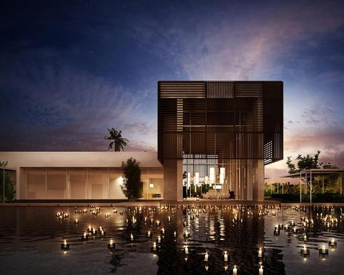 The Oberoi, Al Zorah will be a luxury eco-destination nestled within 247 acres of forest, with a long beachfront, lagoons and mangroves / Oberoi