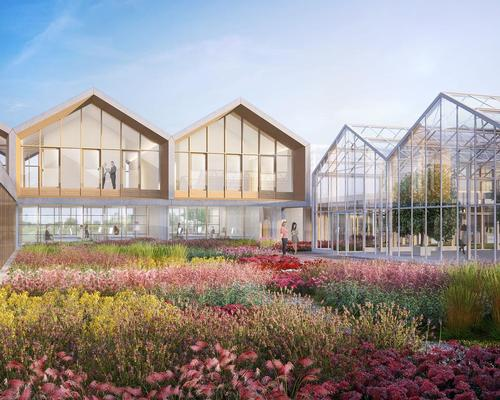 The architects have envisioned a village inspired by classical Italian farmhouses / Paolo Vanin