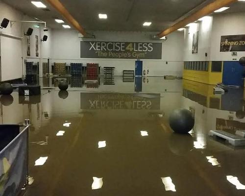 The low cost operator's Xercise4Less Leeds site was swamped with more than 4ft of water on Boxing Day 2015