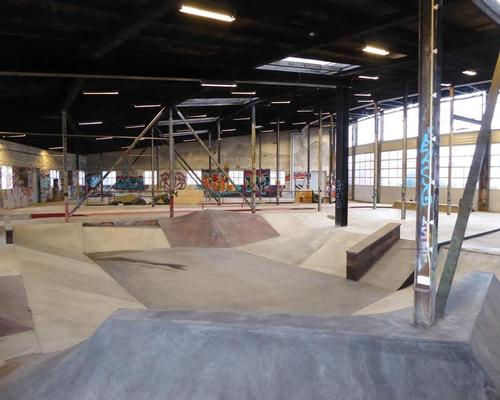 One of the primary uses of the site is skateboarding, and the challenge of creating a user-friendly skating facility was what drew EFFEKT to the project / GAME Streetmekka