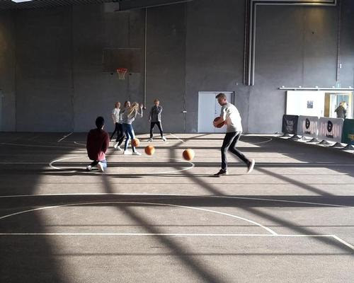 Danish NGO GAME organise street sports at the site to create lasting social change / GAME Streetmekka