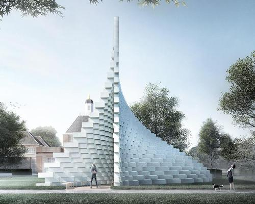 The structure will be the centrepiece of the 2016 Serpentine summer pavilion programme / Bjarke Ingels Group