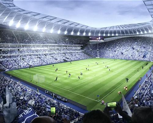 Boris Johnson said the new stadium will 'provide world-class facilities to watch Premier League football, international sports events and concerts in the heart of the capital' / Populous