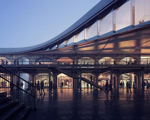 The first image of Heatherwick Studio's Coal Drops Yard project / Mir
