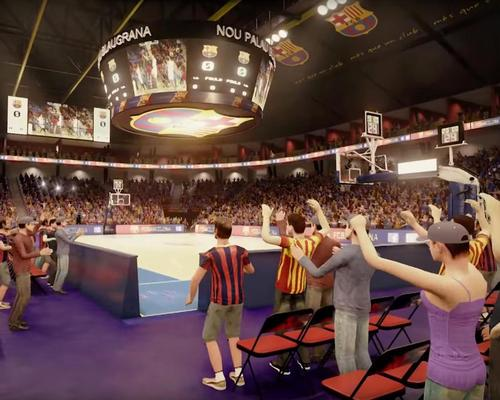 Work will be completed in time for the 2019/2020 basketball season / FC Barcelona