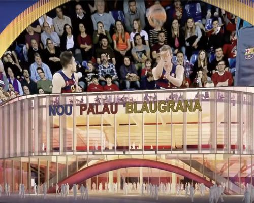 The stadium will host games for the club's basketball offshoot / FC Barcelona