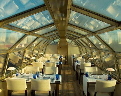 The special carriage will give diners a view of the passing Dutch landscape / Panorama Rail Restaurant