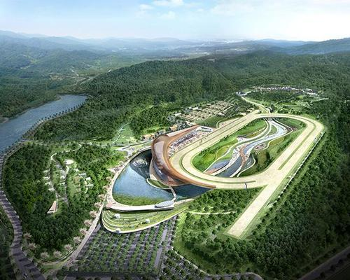 Park EverYoung has been developed in collaboration with South Korean firms NOW Architects, Group Han Associates, Dohwa Engineering and DE Partners / Korean Racing Authority