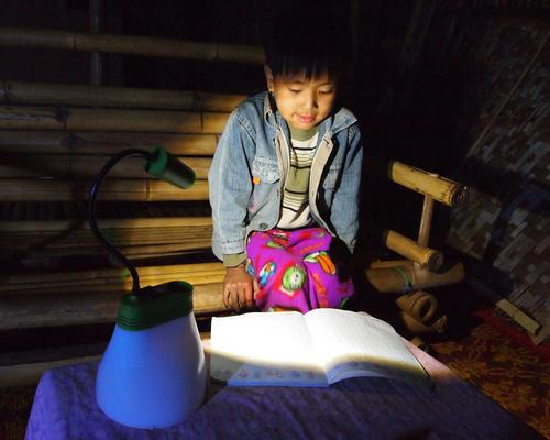 After the festival, Bright will donate its lamps to communities not connected to an electricity grid / Bright