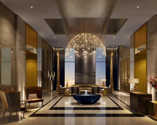 "The new Four Seasons DIFC features interiors by New York-based Tihany Designs, which will be ""characterised by impeccable craftsmanship, bespoke details and high-tech efficiency,"" the company said"