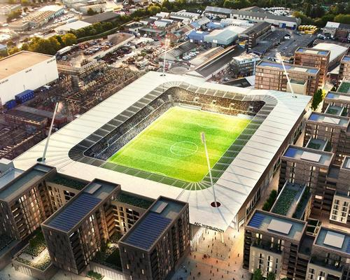 AFC Wimbledon is still waiting for planning permission to build its proposed new stadium in Merton