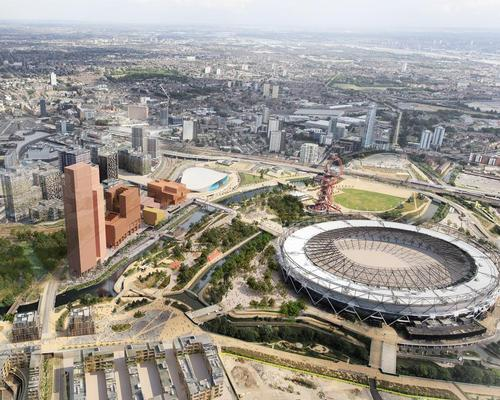 The new images show how the design of the ambitious cultural quarter is developing / Queen Elizabeth Olympic Park