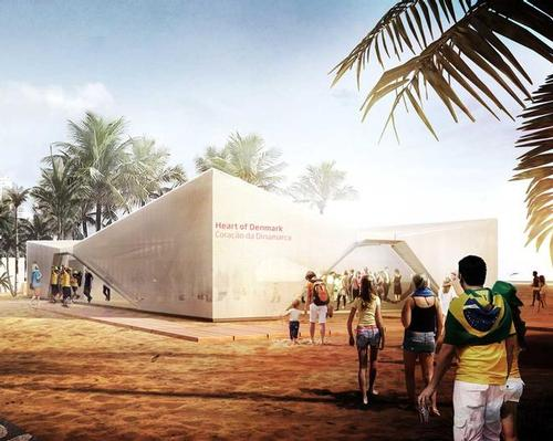 Henning Larsen's design references Rio's hilly landscape, the lightness and simplicity of Nordic architecture and the work of renowned Brazilian architect Oscar Niemeye / Henning Larsen Architects