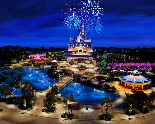 The Shanghai Disney Resort, designed by Walt Disney Imagineering, will open in June 2016 / Shanghai Disney Resort