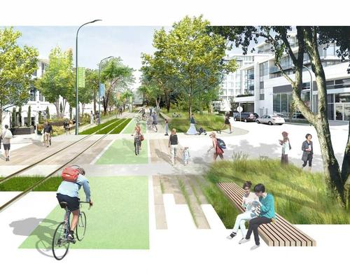 The greenway will become a walking and cycling route, a park and a tourist attraction / City of Vancouver