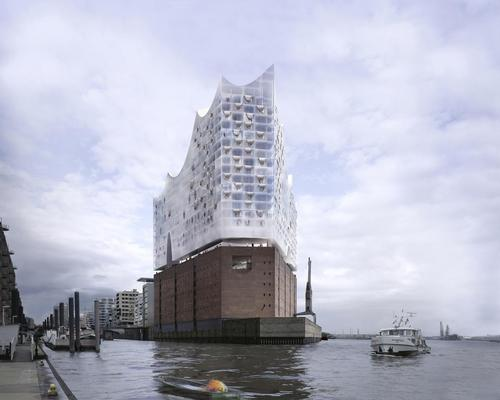 The Westin Hamburg, located atop the new Elbe Philharmonic Hall on the banks of the river Elbe, is one of 30 Starwood properties due to open in the next five years