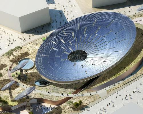 The Sustainability pavilion by Grimshaw Architects / Expo 2020 Dubai