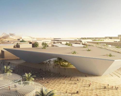 The Opportunity pavilion by BIG / Expo 2020 Dubai
