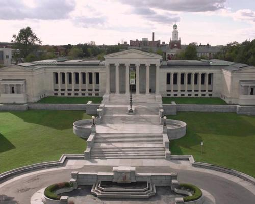 The existing Albright-Knox building was created in 1905 by Edward B. Green  / YouTube