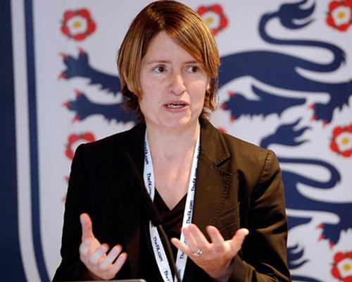 Kelly Simmons said that 30,000 people responded to the FA's pitch provision survey in January / Football Association