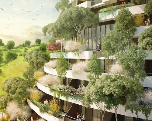 Boeri believes that tree-covered buildings enhance both the human and natural environment / Stefano Boeri Architetti