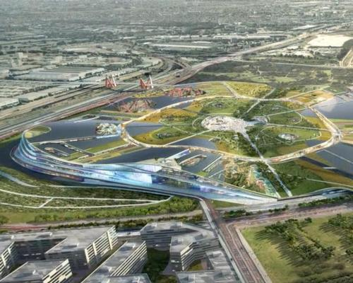 EuropaCity will cover more than 80 acres (324,000sq m)  / BIG