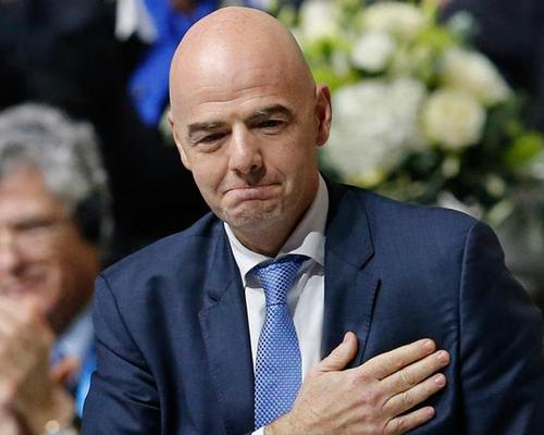 Gianni Infantino was elected as FIFA's president in February 2016