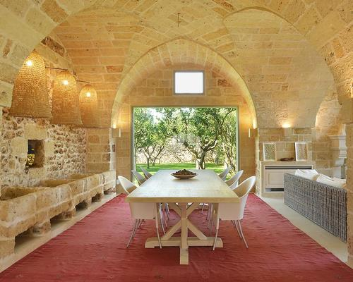 The building, which once served as a farm house, had been untouched in 200 years / Masseria Trapana