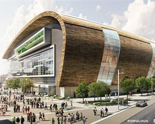 Populous has designed the arena alongside Wisconsin-based Eppstein Uhen and HNTB / Populous