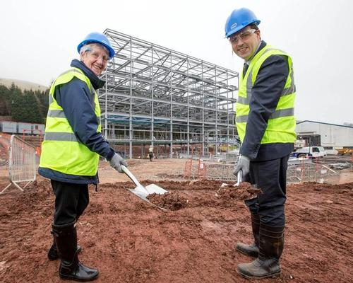 £12m National Centre Inverclyde begins to take shape