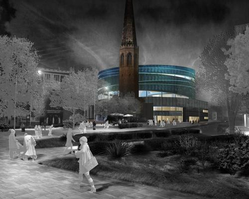 The waterpark will be dramatically lit at night / Coventry Council