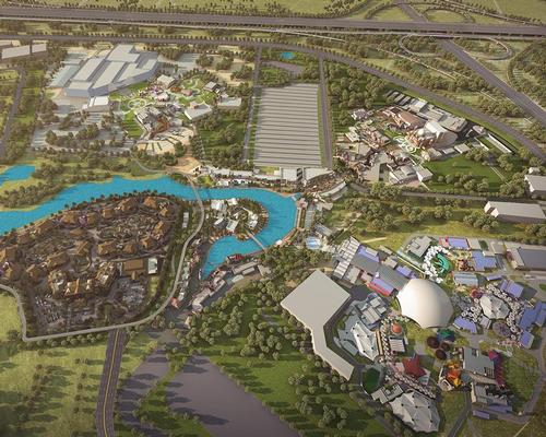 A Six Flags theme park might soon be part of Dubai Parks & Resorts masterplan / Dubai Parks & Resorts