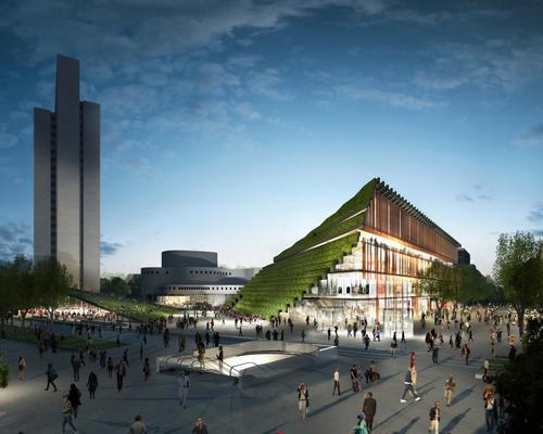 The Kö-Bogen 2 complex will bring nature into the heart of Düsseldorf / Alexander Schmitz