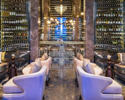 The resort features a St Regis Bar with over a thousand bottles of wine / St Regis
