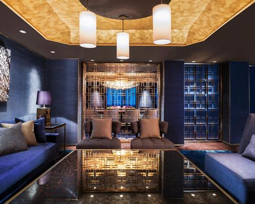 The interior colour scheme is inspired by the island's shimmering corals / St Regis
