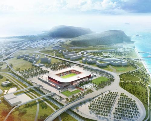 Cagliari's new stadium development will include bars, shops and several grassroots sporting facilities
