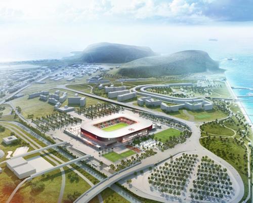 Cagliari's new stadium development will include bars, shops and several grassroots sporting facilities