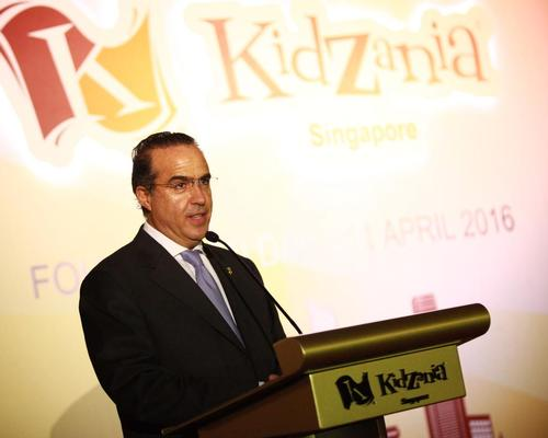 Xavier López Ancona – founder and president of KidZania – was on-hand for the opening / KidZania
