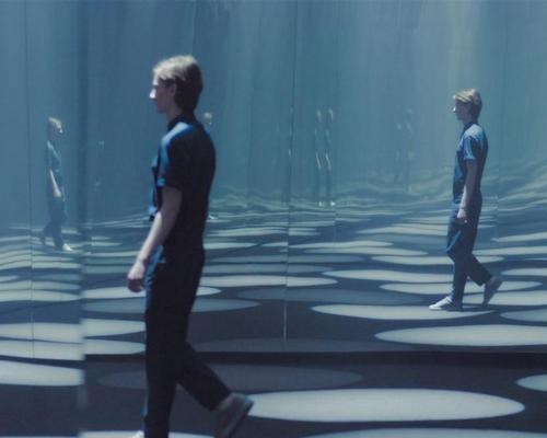 Mirrored walls create the illusion of an infinite landscape / COS