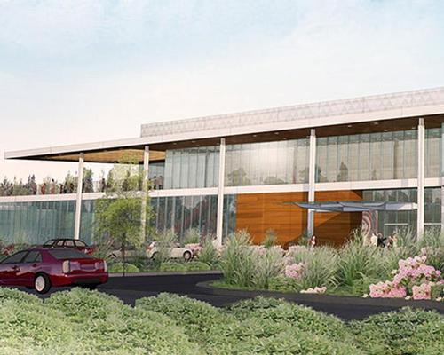Ground is expected to be broken on the HOK-designed facility in summer 2016 / HOK
