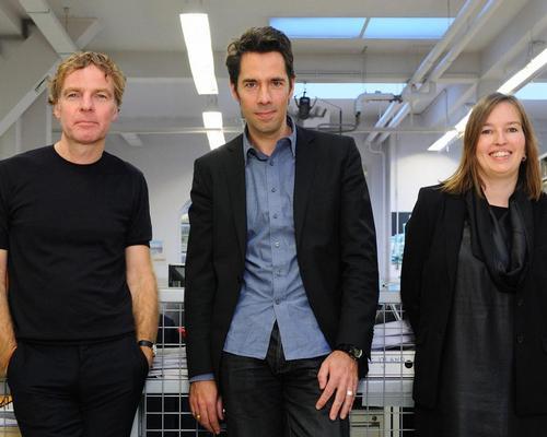 MVRDV founders Winy Maas, Jacob van Rijs and Nathalie de Vries / MVRDV/Allard van de Hoek