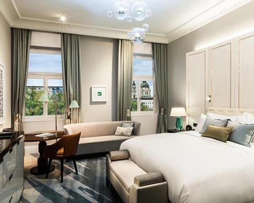 The Ritz-Carlton Budapest has opened in a protected historic building